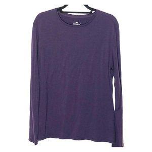 Seg'Ments Purple Merino Wool Base Layer Top
